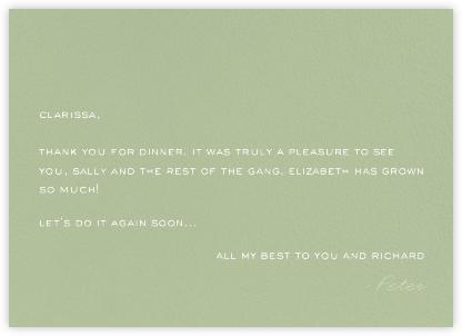 Green Velvet - Paperless Post -