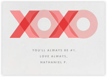XOXO - Paperless Post -