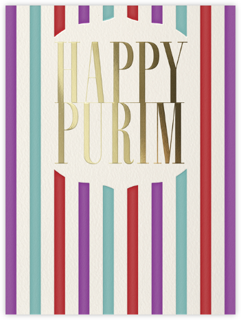 Happy Purim - Paperless Post - Holiday cards