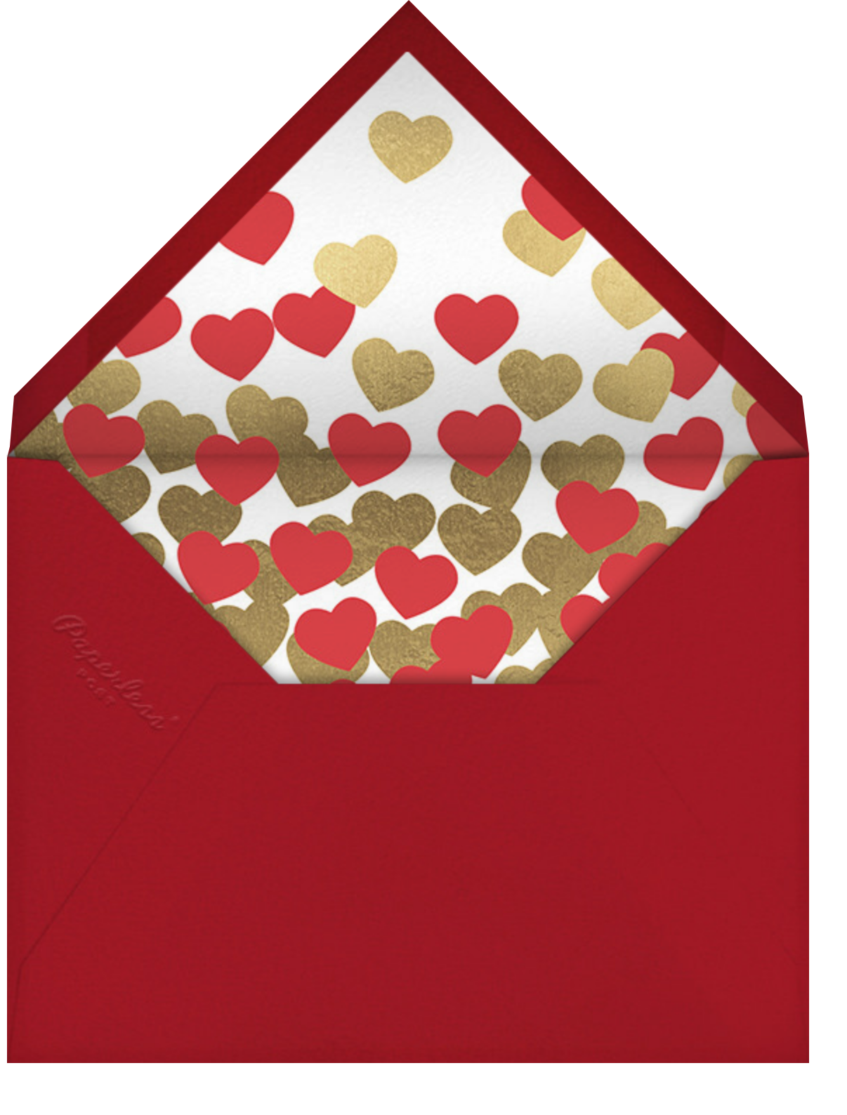 What's Love - Paperless Post - Valentine's Day - envelope back
