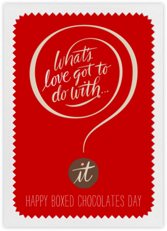 What's Love - Paperless Post - Funny valentines