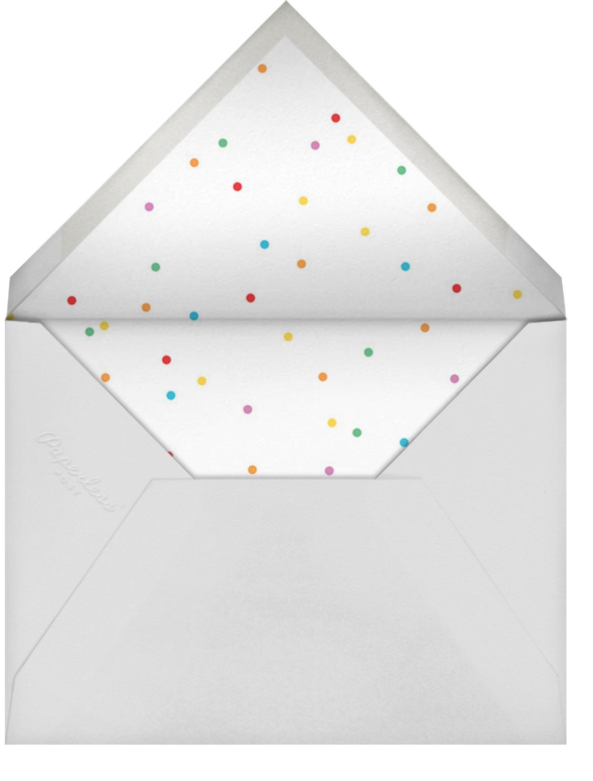 Balloon Animals (Invitation) - Hello!Lucky - Kids' birthday - envelope back