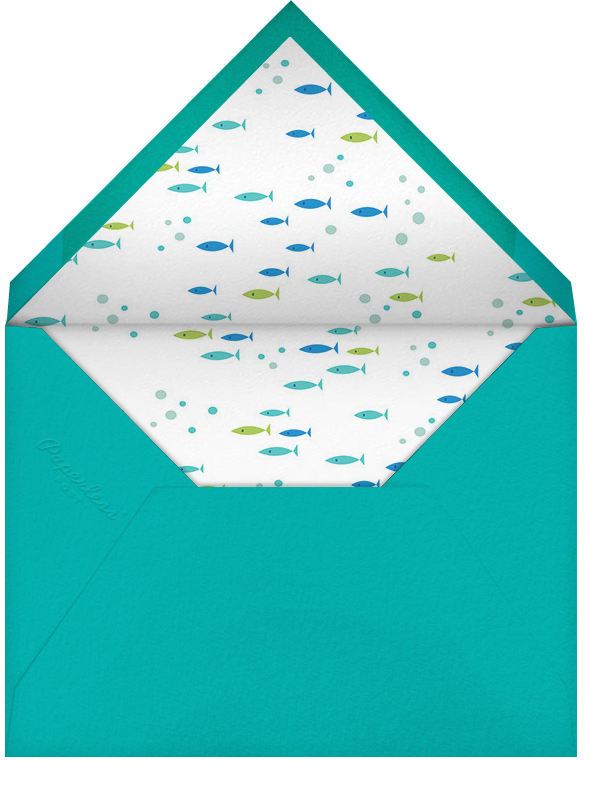 Whale of a Party - Hello!Lucky - Kids' birthday - envelope back