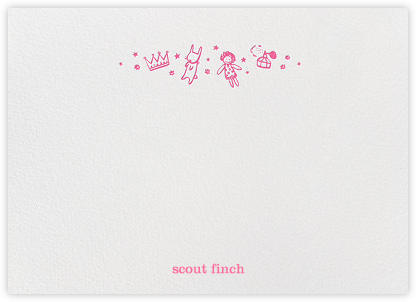Pink Play Things (Stationery) | horizontal