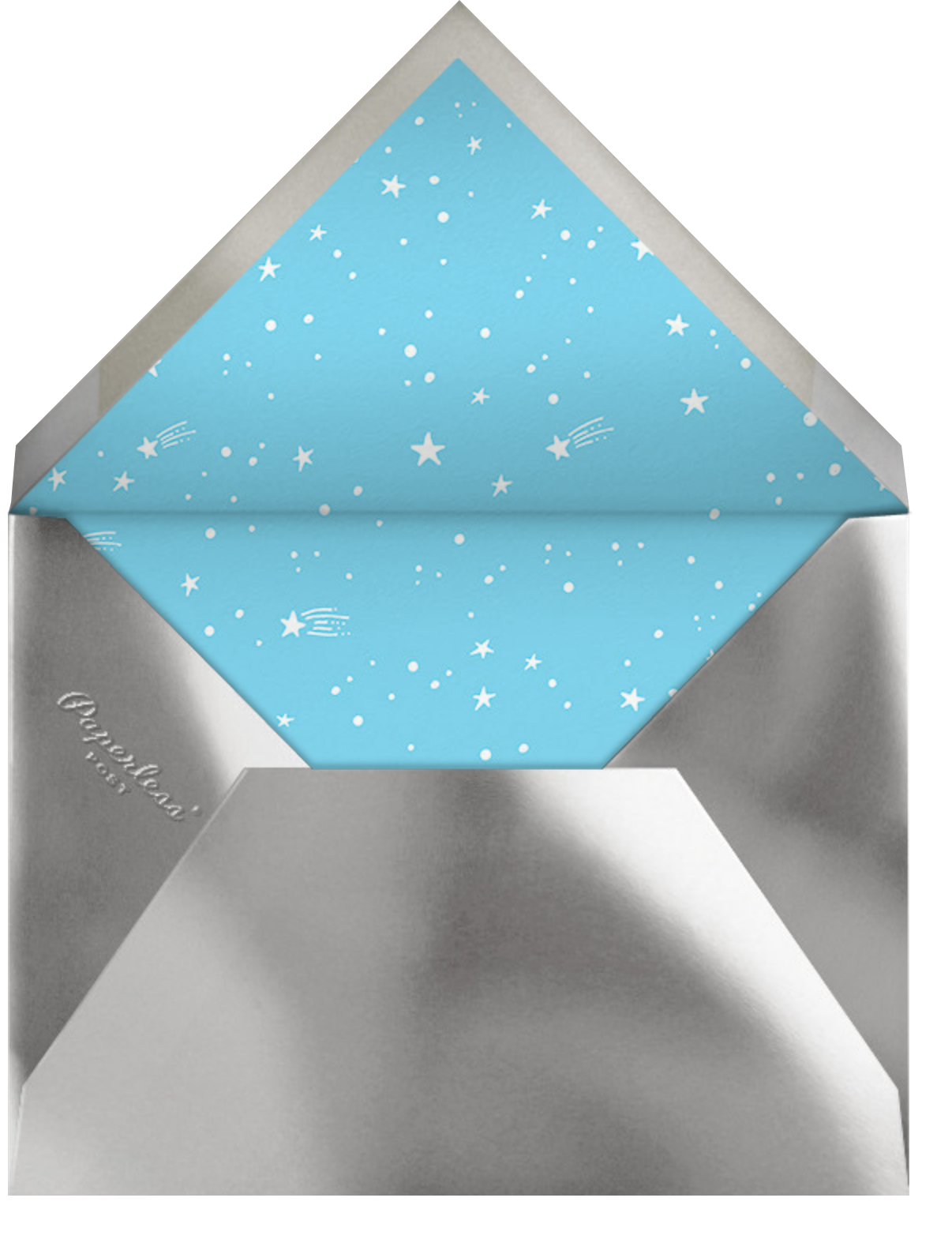Out of This World - Hello!Lucky - Kids' birthday - envelope back