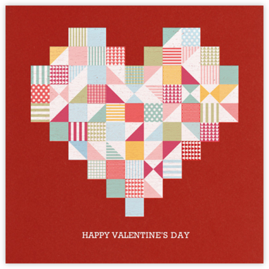 Quilted Heart - Paperless Post -