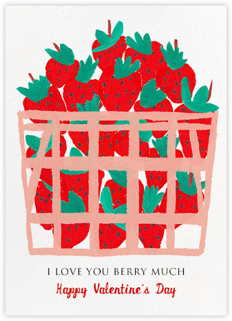 Berry Love - Mr. Boddington's Studio - Valentine's day cards