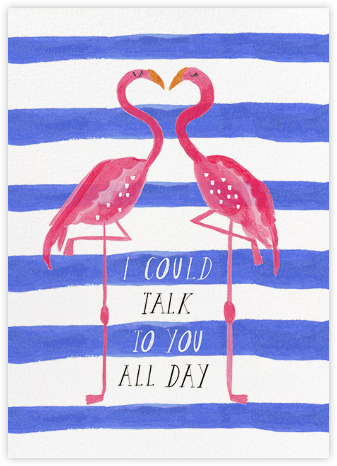 Pink Legs  - Mr. Boddington's Studio - Valentine's Day Cards