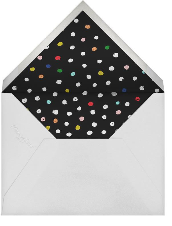 Messy Dots - Ashley G - Baby shower - envelope back