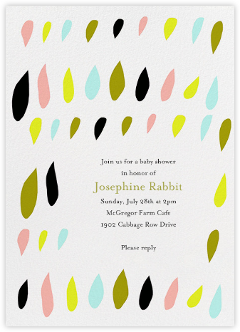 Cutout Drops - Ashley G - Celebration invitations