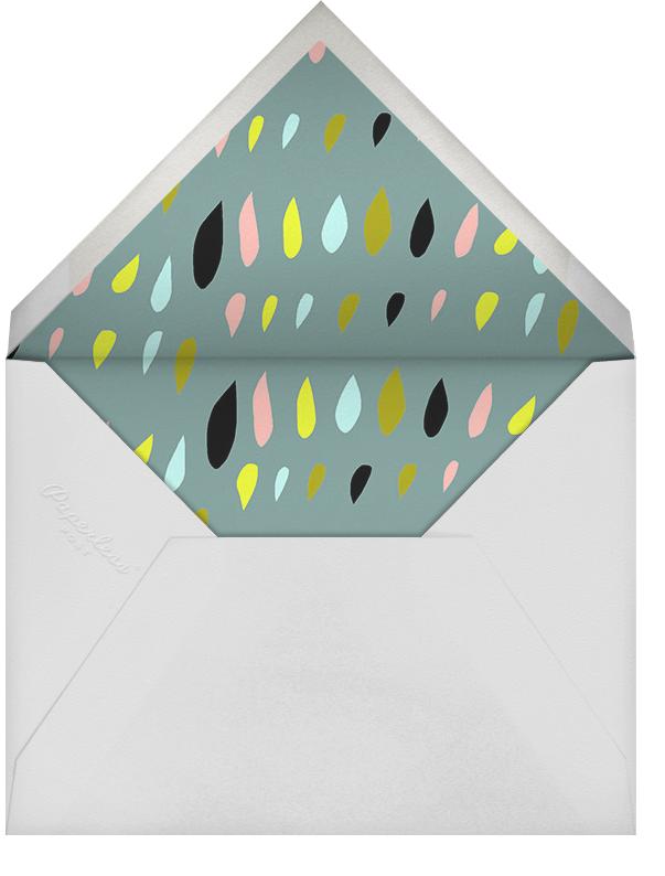Cutout Drops - Ashley G - Baby shower - envelope back