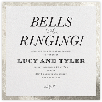Bells Are Ringing - Silver - bluepoolroad -