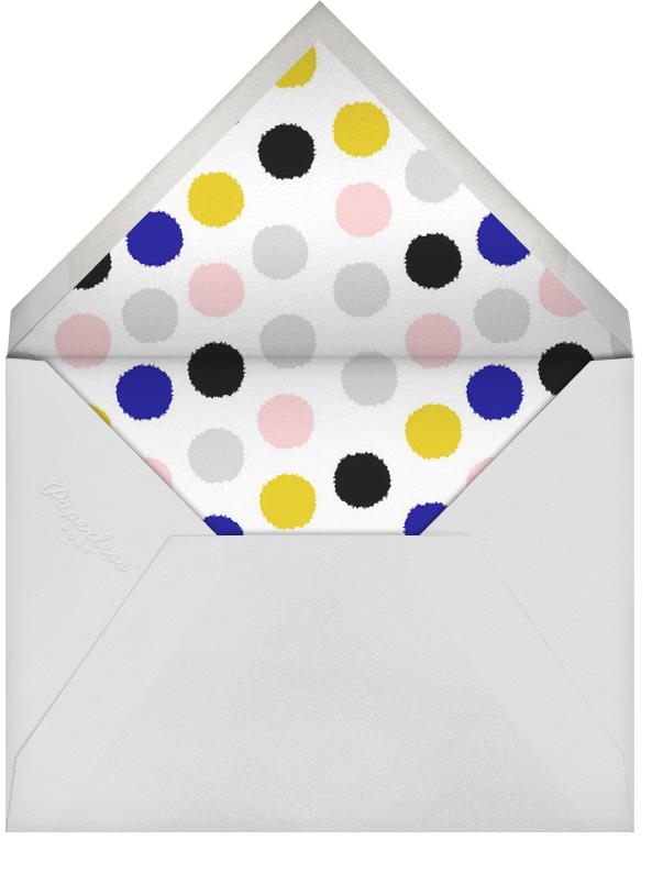 Stamped Dots - Ivory - Ashley G - Envelope