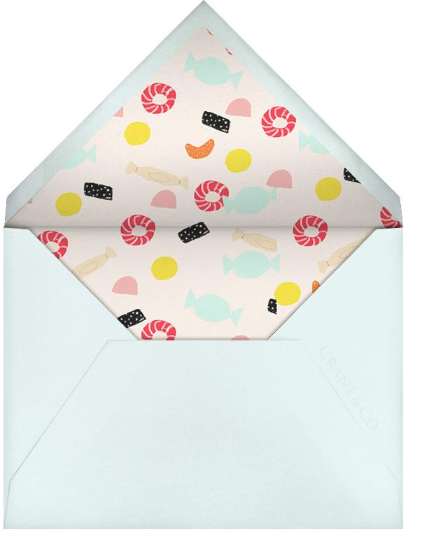 The Sweet Life - Ashley G - Kids' birthday - envelope back