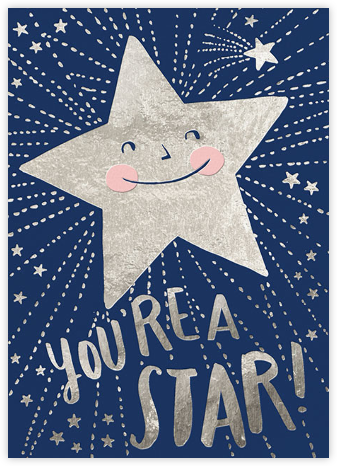 You're a Star - Hello!Lucky - Online greeting cards