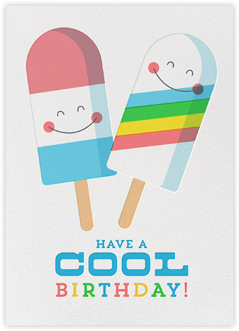 Cool Birthday - Hello!Lucky - Online greeting cards