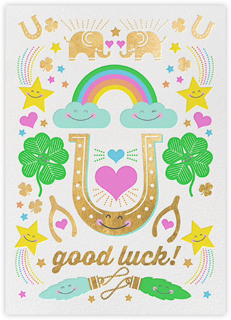 Good Luck Charms - Hello!Lucky - Good Luck Cards