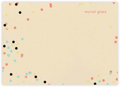 Confetti Circles (Stationery) - Ashley G