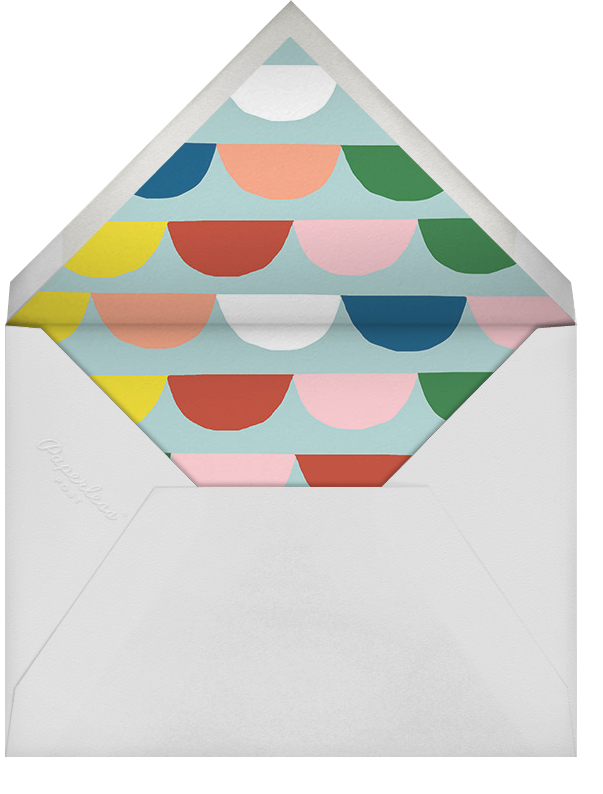 Festive Bunting (Stationery) - Ashley G - Kids' stationery - envelope back