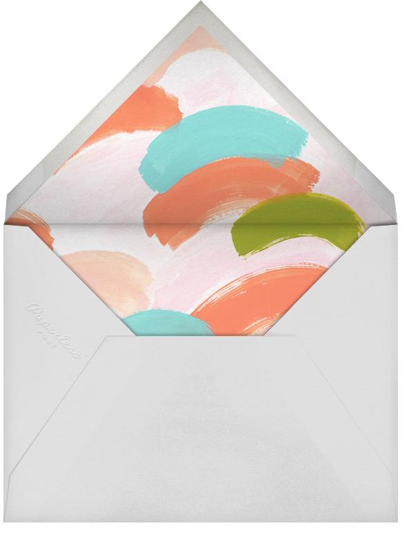 Messy Strokes Red (Stationery) - Ashley G - Personalized stationery - envelope back