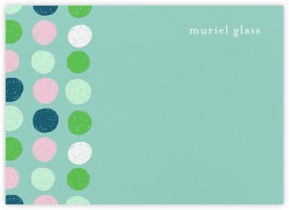 Scribbled Circles (Stationery) - Ashley G