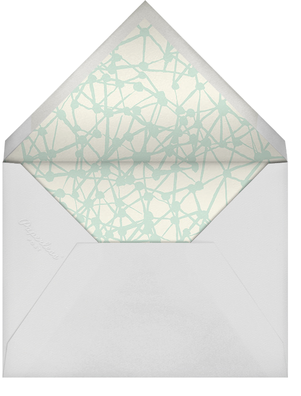 Winter Web (Stationery) - Ashley G - Personalized stationery - envelope back