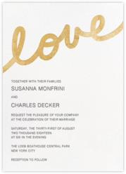 Love Letter - Gold