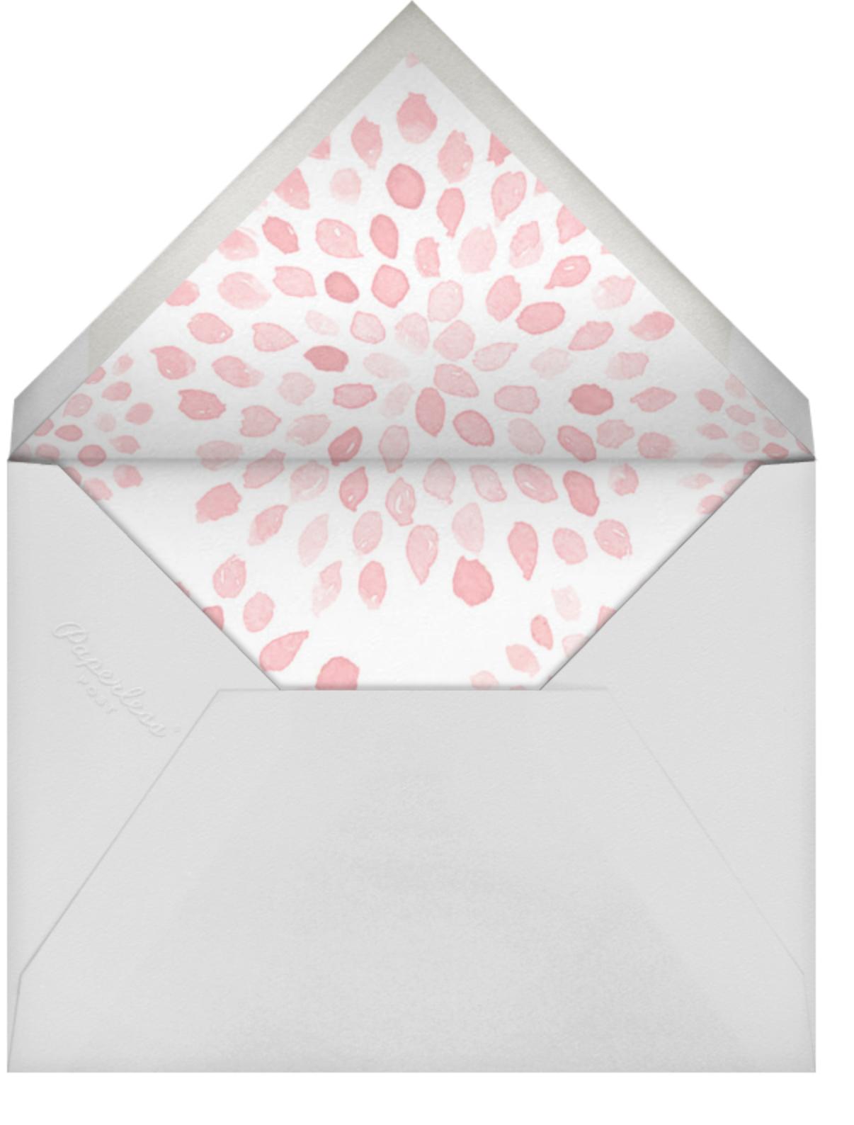Let's Brunch - Crate & Barrel - Bridal shower - envelope back