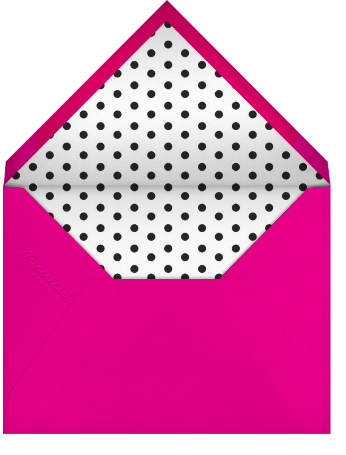 Darling Rose - kate spade new york - Valentine's Day - envelope back