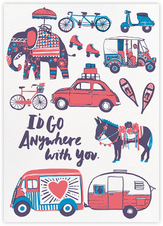 Anywhere with You - Hello!Lucky - Valentine's day cards