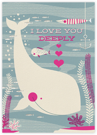 Deep Love - Hello!Lucky - Valentine's Day Cards