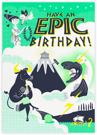 Epic Birthday - Hello!Lucky - Birthday Cards for Him