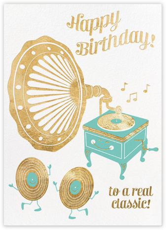 Golden Oldie - Hello!Lucky - Birthday Cards for Him