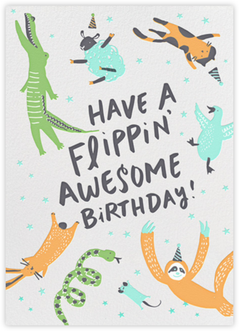 Jump for Joy (Tall) - Hello!Lucky - Birthday cards