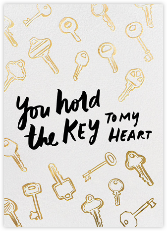 Key to My Heart - Hello!Lucky - Hello!Lucky Cards