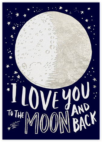 To the Moon - Hello!Lucky - Love Cards