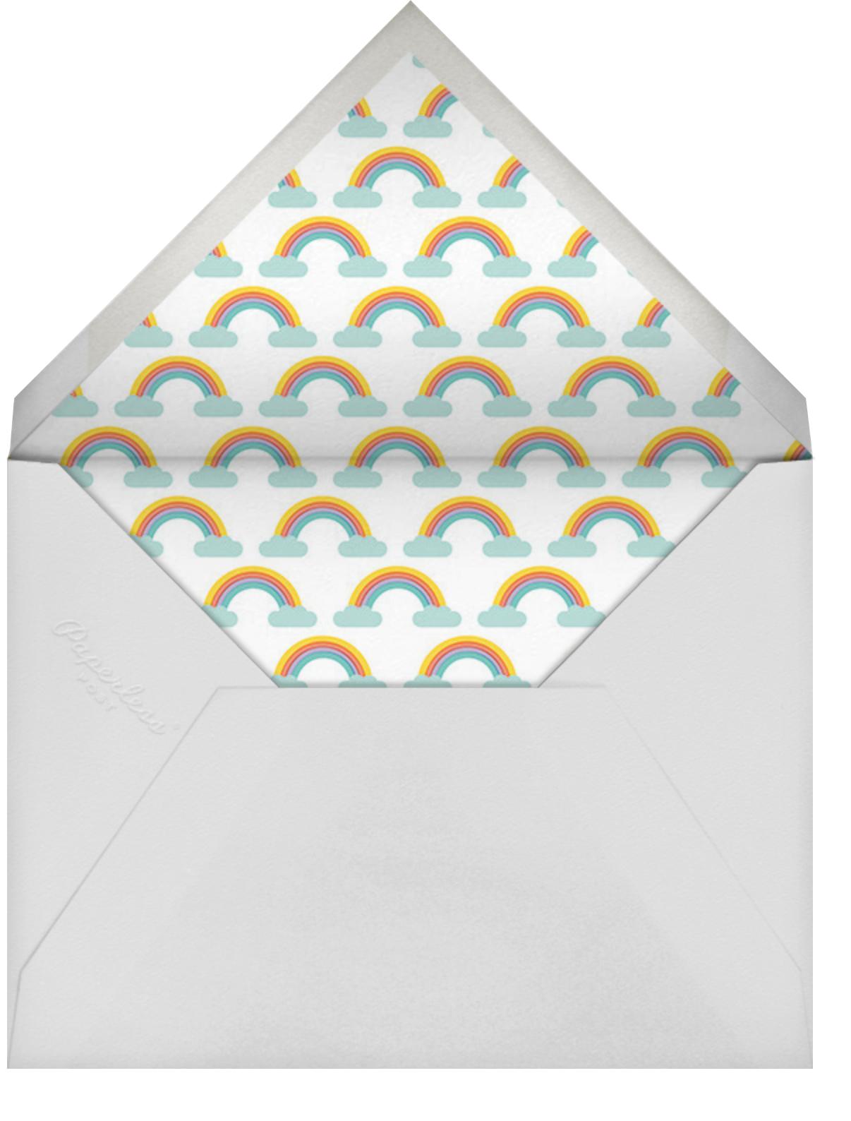 Unicorn High Five (Greeting) - Hello!Lucky - Birthday - envelope back