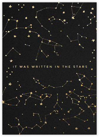 Written in the Stars - Hello!Lucky - Online greeting cards