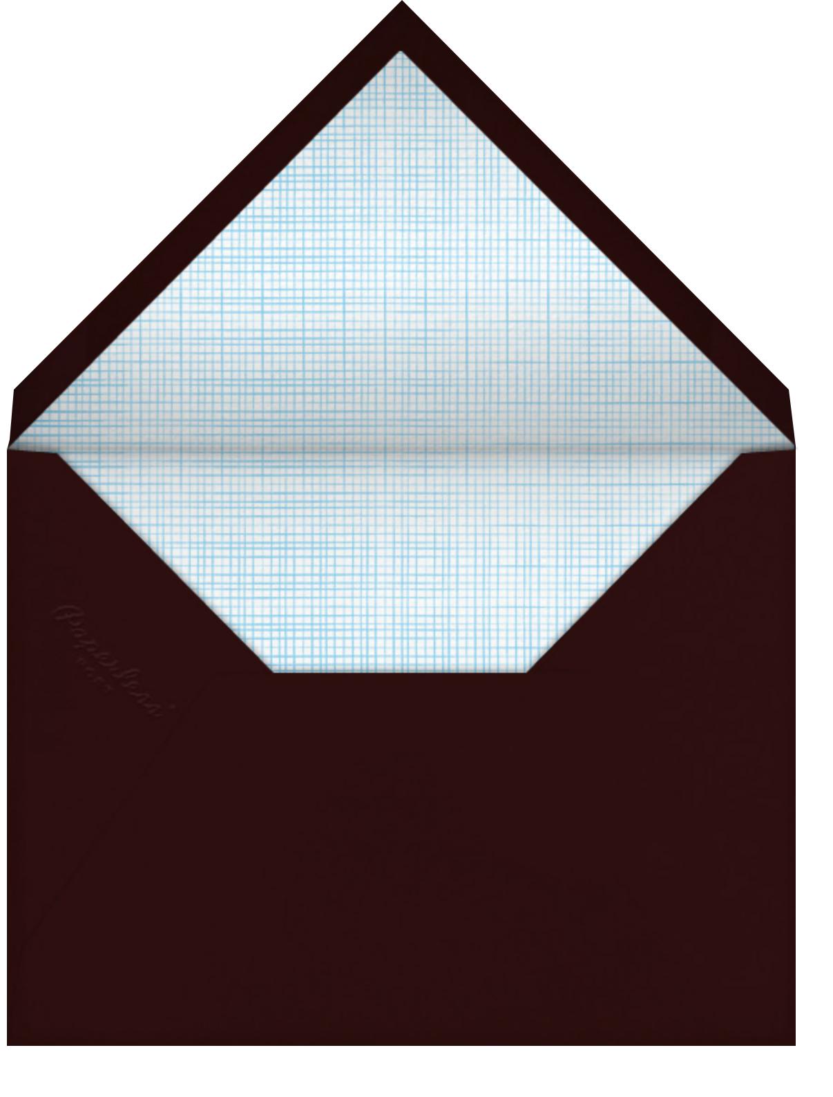 Wokkin' Birthday - Hello!Lucky - Funny birthday eCards - envelope back