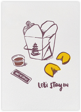 Let's Stay In - Hello!Lucky - Valentine's day cards