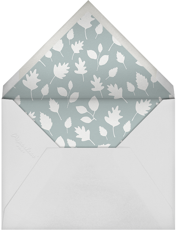 Forest Birthday Party - Hedgie - Little Cube - Kids' birthday - envelope back