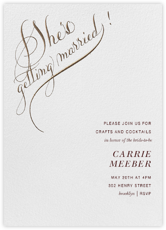 She's Getting Married- Bronze - Bernard Maisner -