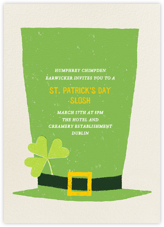 The Tallest Leprechaun - Paperless Post - Invitations