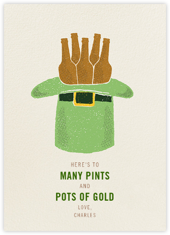Hat Trick - Paperless Post - St. Patrick's Day cards