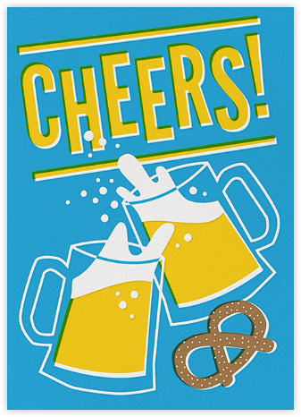 Cheers Beers (Greeting) - Hello!Lucky - Congratulations cards