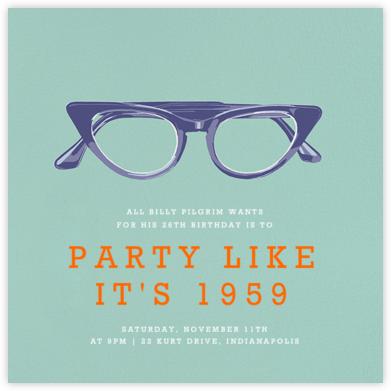Cat Glasses (Invite) - Hannah Berman -