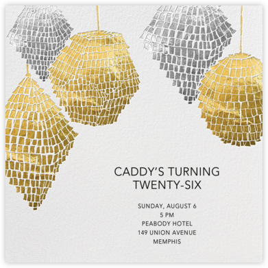 Cartonería - Paperless Post - Adult Birthday Invitations