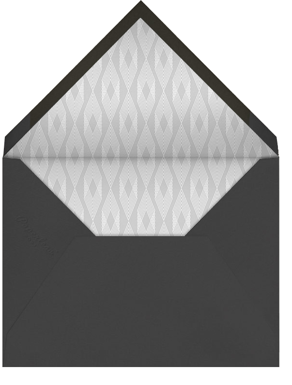 Deco Party - Ivory - Paperless Post - Adult birthday - envelope back