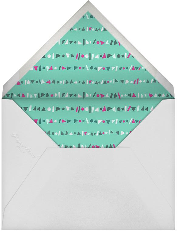 Streamer Shapes - Paperless Post - Adult birthday - envelope back