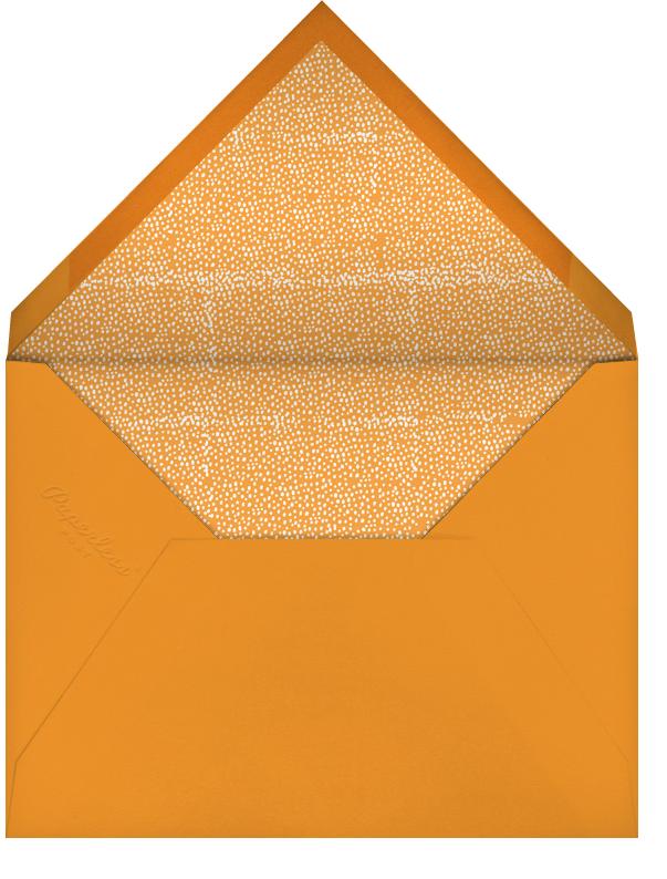A Hole in Your Safety Net - Mr. Boddington's Studio - Graduation - envelope back